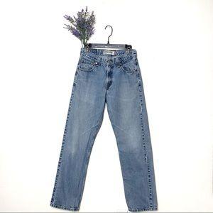 Blue Vintage Levis 505 Light Wash Regular Fit Jean
